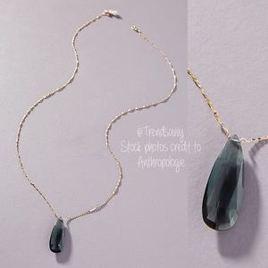 ANTHROPOLOGIE Serefina Skipping Stones Necklace